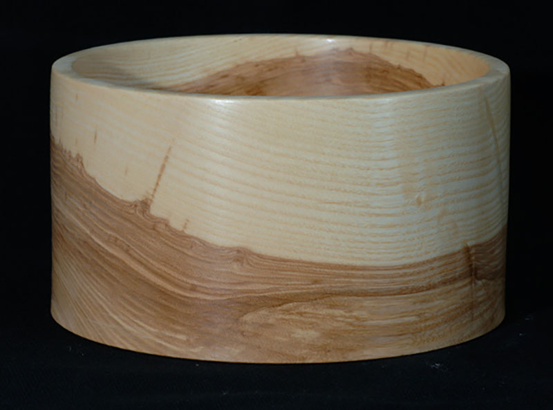 Cylindrical bowl, as Earth and Sky